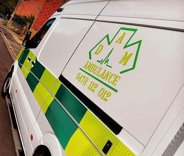 Ambulance de Dam Ambulance